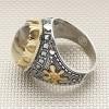 خاتم فضة بحجر عقيق يمني للبيع بالجملة