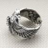 Anillo de plata para hombre al por mayor de Biker Eagle