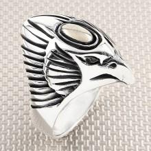 Biker Doğan Wholesale Silver Men Ring