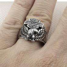 Biker Harley Davidson Wholesale Silver Men Ring