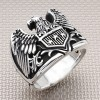 Biker American Eagle Wholesale Silver Men Ring