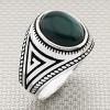 Wholesale Silver Men's Ring with Greek Motif