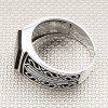 Wholesale Silver Men's Ring With Motf