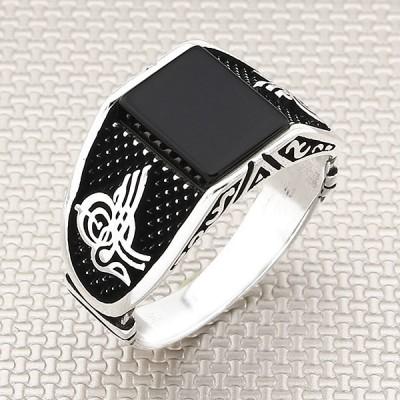 Ottoman Tugra Wholesale Silver Men Ring