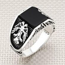 Seljuk Eagle Wholesale Silver Men's Ring