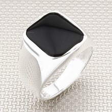 Simple Classic Wholesale Silver Men Ring