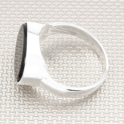 Simple Classic Thin Wholesale Silver Men Ring