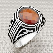 Authentic Design Wholesale Silver Men Ring