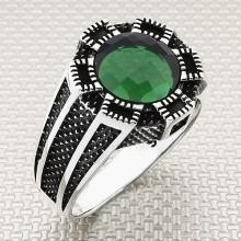 Oktagon Design Wholesale Silver Men Ring