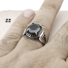 Sterling Silver 925 Ring for Men