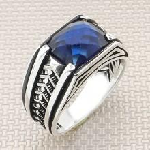 Broken Striped Wholesale Silver Men Ring