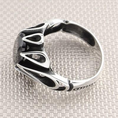 Drop Kubik Wholesale Silver Men Ring