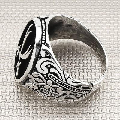 Zulfikar Double Sword Wholesale Silver Men Ring