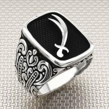 Sword Wholesale Silver Men Ring