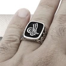 Tugra Wholesale Silver Men Ring