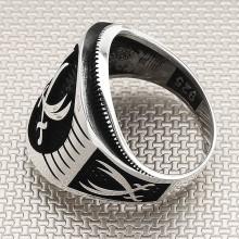 Zulfiqar Sword Wholesale Silver Men's Ring