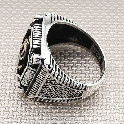 Sailor Anchor Wholesale Silver Men Ring