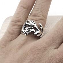 Dragon Wholesale Silver Men Ring