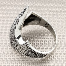 Seljuk Zihgir Wholesale Silver Men's Ring