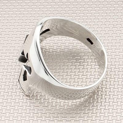 Sparta Helmet Wholesale Silver Men Ring