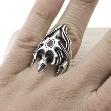 Tribal Design Wholesale Silver Men Ring