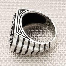 Sailor Wreath and Anchor Wholesale Silver Men Ring