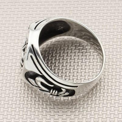 Mug Motif Wholesale Silver Men's Ring