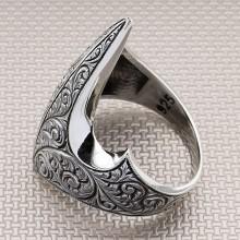 Ottoman Archer Zihgir Wholesale Silver Men Ring