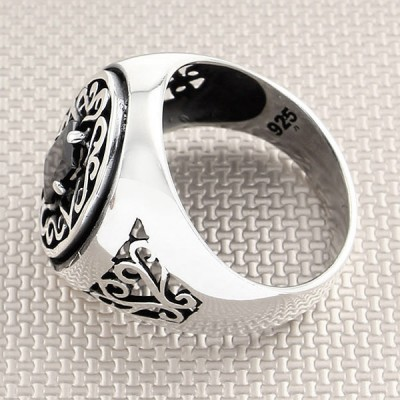 OtantiK Design Wholesale Silver Men Ring