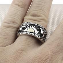 Doğan Güneş Wholesale Silver Men Ring
