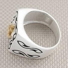 Anchor Wholesale Silver Men Ring