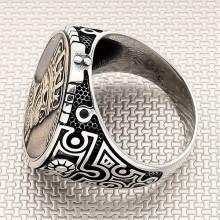 King Skull Wholesale Silver Men Ring