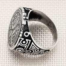 Egyptian Pharaoh Wholesale Silver Men Ring