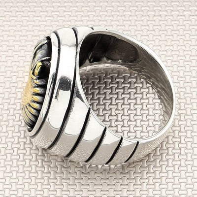 Horse Head Wholesale Silver Men Ring