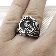 Oriyental Design Wholesale Silver Men Ring